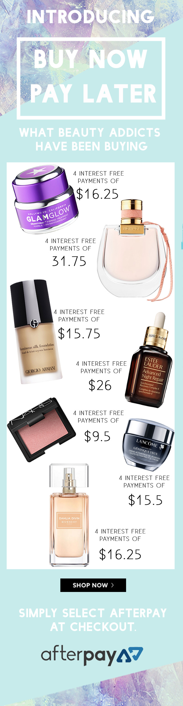 AfterPay x Fresh Buy Beauty Now Pay later #afterpayit USA